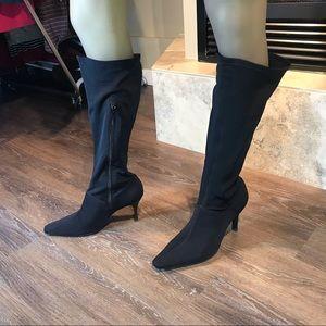 5/$20 Encanto Vintage Stretchy Boots, Size 9.5